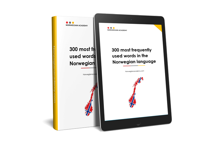 300 most used words in Norwegian