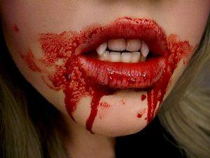 Norwegian idioms: Å få blod på tann