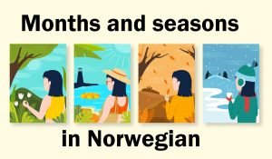months_and_seasons_in_norwegian